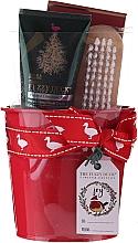 Parfums et Produits cosmétiques Baylis & Harding Tin of Treats Set - Set (crème pour mains/50ml + brosse à ongles + sel de bain/75g)
