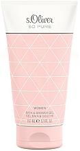 Parfums et Produits cosmétiques S.Oliver So Pure Women - Gel bain et douche
