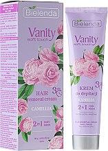 Parfums et Produits cosmétiques Crème dépilatoire 2 en 1 Camélia, corps et maillot - Bielenda Vanity Soft Touch Kamelia