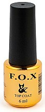 Parfums et Produits cosmétiques Top coat pour vernis semi-permanent - F.O.X Top Steel