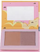 Parfums et Produits cosmétiques Duo poudre bronzante - Moira Golden Rays Bronzed Goddess Duo