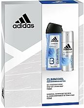 Parfums et Produits cosmétiques Adidas Climacool Men - Set (déo / 150ml + gel douche / 250ml)