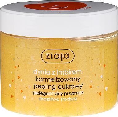 "Peeling corporel au sucre ""Citrouille au gingembre"" - Ziaja Sugar Body Peeling"