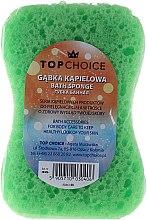 """Parfums et Produits cosmétiques Éponge de bain, """"Motyl"""" 30406, blanc-vert - Top Choice"""