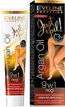Parfums et Produits cosmétiques Crème dépilatoire à l'huile d'argan pour jambes - Eveline Cosmetics Argan Oil