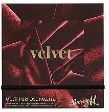Parfums et Produits cosmétiques Palette de maquillage - Barry M Velvet Multi-Purpose Palette
