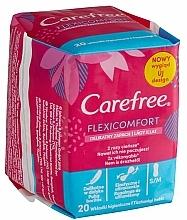 Parfums et Produits cosmétiques Protège-slips hygiéniques, 20pcs - Carefree Flexi Comfort Pantyliners With Soft Scent