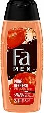 Parfums et Produits cosmétiques Gel douche pour corps et cheveux, Guarana - Fa Men Pure Refresh With Guarana Scent