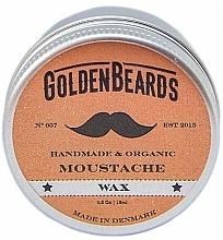Parfums et Produits cosmétiques Cire à moustache bio à l'huile de jojoba - Golden Beards Moustache Wax