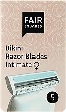 Parfums et Produits cosmétiques Lames de rechange pour rasoir - Fair Squared Bikini Razor Blades