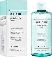 Parfums et Produits cosmétiques Lotion tonique équilibrante pour peaux sensibles - A-True Origin pH Balancing Toner