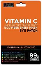 Parfums et Produits cosmétiques Patchs à la vitamine C contour des yeux - Beauty Face IST Whitening & Restorating Eye Patch Active Vitamin C