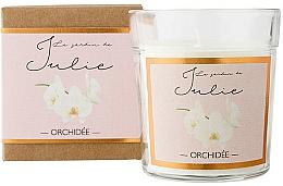Parfums et Produits cosmétiques Bougie parfumée, Orchidée - Ambientair Le Jardin de Julie Orchidee