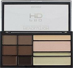 Parfums et Produits cosmétiques Palette sourcils - Makeup Revolution HD Pro Brows