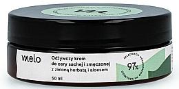 Parfums et Produits cosmétiques Crème au thé vert et aloe vera pour visage - Melo