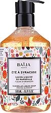 Parfums et Produits cosmétiques Savon liquide de Marseille Fleur d'oranger - Baija Ete A Syracuse Marseille Liquid Soap