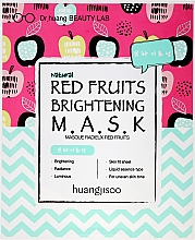 Parfums et Produits cosmétiques Masque tissu éclaircissant aux fruits rouges pour visage - Huangjisoo Red Fruits Brightening Mask