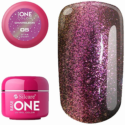 Gel pour ongles - Silcare Base One Chameleon UV Gel Color