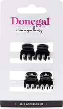 Parfums et Produits cosmétiques Pinces à cheveux mini FA-9930, noires, 4 pcs - Donegal Hair Clip