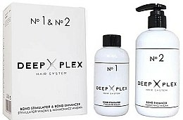 Parfums et Produits cosmétiques Stapiz Deep Plex System No.1 & No.2 - Set soin cheveux