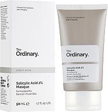 Parfums et Produits cosmétiques Masque à l'acide salicylique 2% pour visage - The Ordinary Salicylic Acid 2% Masque