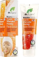 Parfums et Produits cosmétiques Gommage mécanique régénérant au miel de Manuka pour visage - Dr. Organic Manuka Honey Face Scrub