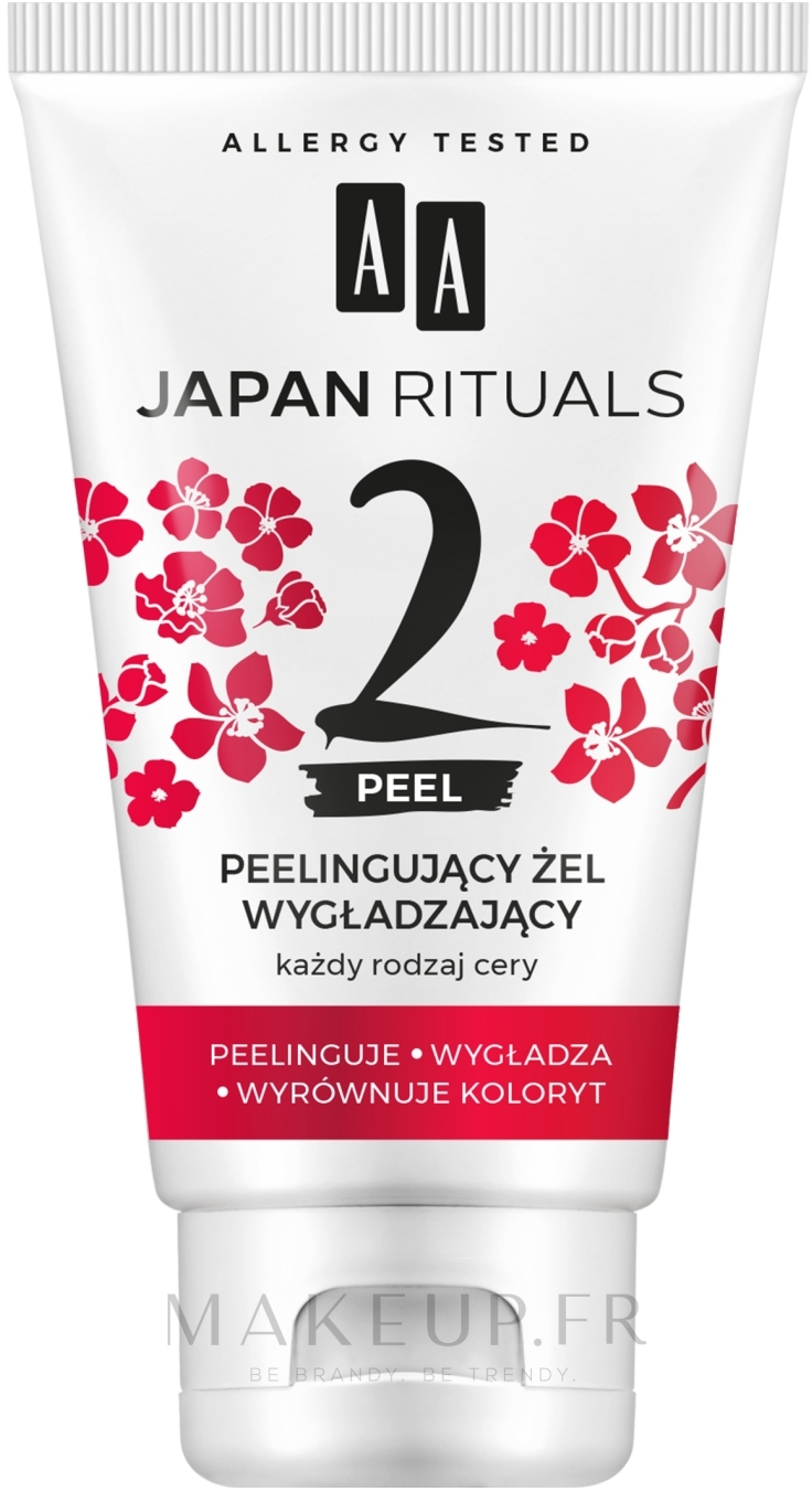 Gel exfoliant pour visage - AA Japan Rituals — Photo 150 ml
