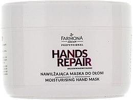 Parfums et Produits cosmétiques Masque à l'extrait de miel et protéines de soie pour les mains - Farmona Farmona Brzoskwiniowe Dlonie