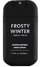 Parfums et Produits cosmétiques Spray désinfectant pour mains Fraise - HiSkin Antibac Hand Spray Frosty Winter