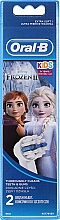 Parfums et Produits cosmétiques Têtes de remplacement pour brosse à dents électrique, 2 pcs. - Oral-B Stages Power Vitality Kids Frozen