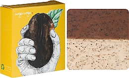 Parfums et Produits cosmétiques Savon exfoliant naturel à l'huile de menthe et au café - Uoga Uoga Care for Coffee? Soap