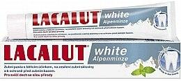 Parfums et Produits cosmétiques Dentifrice à la menthe blanche alpine - Lacalut White Alpenminze Toothpaste