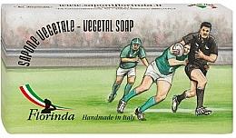 Parfums et Produits cosmétiques Savon végétal, Rugby - Florinda Sport & Spezie Natural Soap