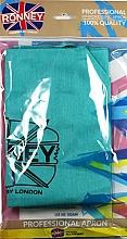 Parfums et Produits cosmétiques Tablier de coiffure, bleu azur - Ronney Professional Hairdressing Apron Azure