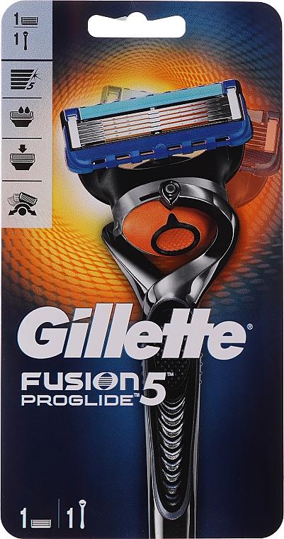 Rasoir de sûreté avec une lame de rechange - Gillette Fusion ProGlide Flexball