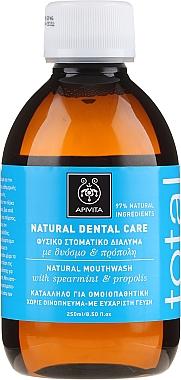 Bain de bouche naturel à l'extrait de propolis et menthe verte - Apivita Healthcare Natural Dental Care Natural Mouthwash With Propolis & Spearmint  — Photo N1