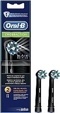 Parfums et Produits cosmétiques Têtes de remplacement pour brosse à dents électrique - Cross Action CA EB50 Black Edition Oral-B
