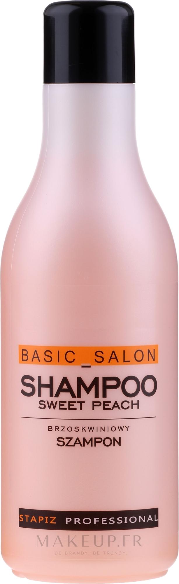 Shampooing à l'arôme de pêche - Stapiz Basic Salon Shampoo Sweet Peach — Photo 1000 ml