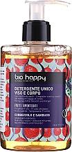 Parfums et Produits cosmétiques Gel nettoyant à la protéine de riz pour visage et corps - Bio Happy Arbutus & Elderberry Face & Body Wash