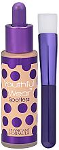 Parfums et Produits cosmétiques Fond de teint lissant avec pinceau pour visage SPF 15 - Physicians Formula Youthful Wear Spotless Foundation SPF 15