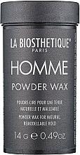 Parfums et Produits cosmétiques Poudre de cire coiffante à tenue forte - La Biosthetique Homme Powder Wax