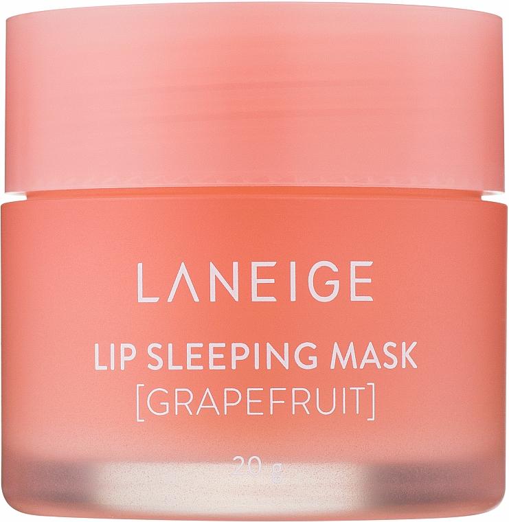 Masque de nuit à l'extrait de pamplemousse pour lèvres - Laneige Lip Sleeping Mask Grapefruit
