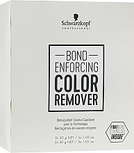 Parfums et Produits cosmétiques Démaquillant couleur capillaire - Schwarzkopf Professional Bond Enforcing Color Remover
