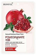 Parfums et Produits cosmétiques Masque tissu à l'extrait de grenade pour visage - Eunyul Natural Moisture Pomegranate Mask