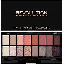 Parfums et Produits cosmétiques Palette de fards à paupières, 16 couleurs - Makeup Revolution Profesional Eyeshadow Palette