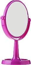 Parfums et Produits cosmétiques Miroir à poser, 85734, ovale, 15.5 cm, violet - Top Choice Colours Mirror