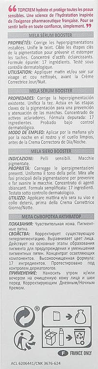 Sérum-booster anti-pigmentation pour visage - Topicrem Mela Booster Serum — Photo N4