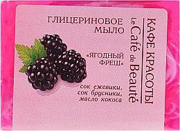Parfums et Produits cosmétiques Savon glycériné au jus de mûre - Le Cafe de Beaute Glycerin Soap