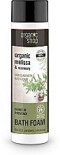 Parfums et Produits cosmétiques Mousse de bain anti-stress aux herbes de Provence - Organic Shop Organic Melissa and Rosemary Antistress Bath Foam