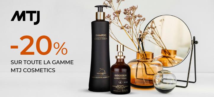Promotion de MTJ Cosmetics